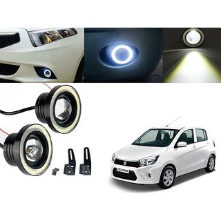 Car Fog Lamp Angel Eye DRL Led Light For Maruti Suzuki Celerio