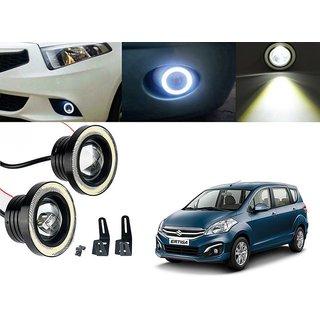 Car Fog Lamp Angel Eye DRL Led Light For Maruti Suzuki Swift Ertiga