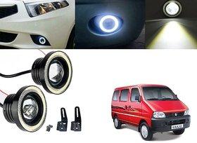 Car Fog Lamp Angel Eye DRL Led Light For Maruti Suzuki Eeco
