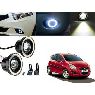 Car Fog Lamp Angel Eye DRL Led Light For Maruti Suzuki Ritz