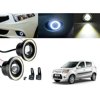 Car Fog Lamp Angel Eye DRL Led Light For Maruti Suzuki Alto 800