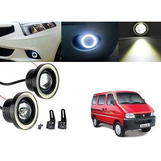 Car Fog Lamp Angel Eye DRL Led Light For Maruti Suzuki Eeco
