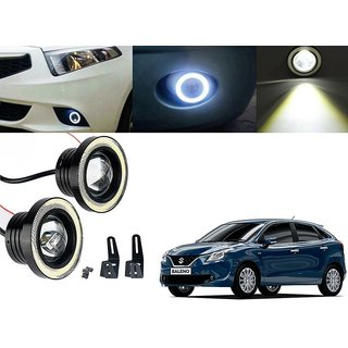 Car Fog Lamp Angel Eye DRL Led Light For Maruti Suzuki Baleno