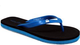 UCB Black Blue FlipFlops For Men