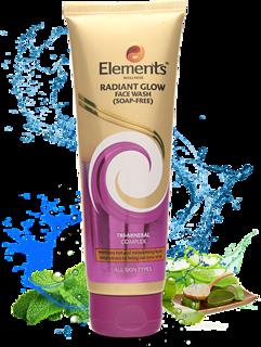 Elements Wellness Radiant Glow Face Wash