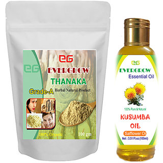 thanaka powder 200gm kusumba oil 200ml for hair removal permanent sollution