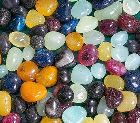 Decor Pebbles Multicolor Stone Pebbles 1Kg