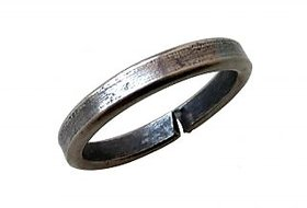 KESAR ZEMS Real Black Horse Shoe Iron Ring ale Ghode ki naal ki Ring. Shani Ring Ring For Everyone Shani Dosh Removal