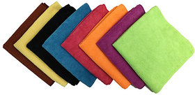 Set of 10 Pcs Microfiber Cloth for Cleaning