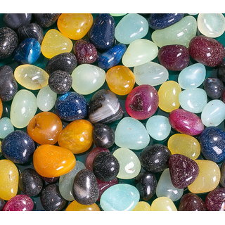 Decor Pebbles Multicolor Stone Pebbles 1Kg