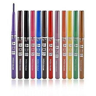 ADS dazzle Lip Liner - 12 pcs