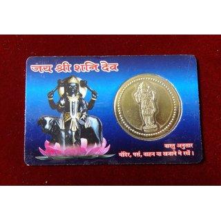 KESAR ZEMS Shanidev Coin Card  KZMC003
