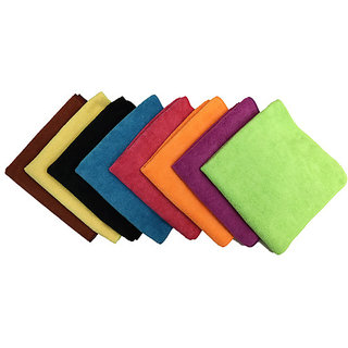 love4ride Set of 10 Pcs Microfiber Cloth for Cleaning