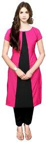 Aiza collection pink designer stitched crepe designer kurti