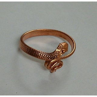 KESAR ZEMS Copper Snake Ring Provides The Fundamental SupportCopper Ring