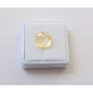 5.75 ratti Yellow sapphire Pukhraj Stone or Yellow Topaz  Guru  Stone buy onlin