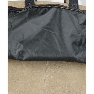 Yellow Tree Gray Suede Leather Brand Export Surplus Laptop Bag Messenger  Shoulder Bag For Unisex