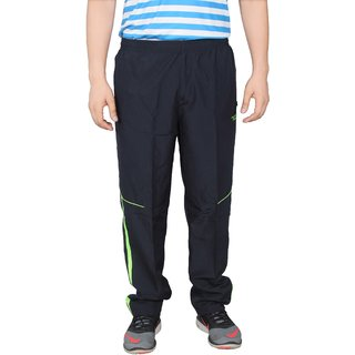 NNN Mens Navy Blue Track Pant Fitness Gym Dryfit Full Length Sports Track Pant