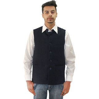 Matelco Mens Black Slim Fit Party Casual Buttoned Blazer With Latest Stretch Fabric