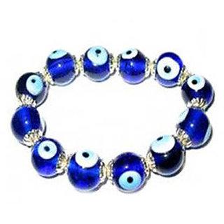 KESAR ZEMS Nazar Suraksha Bracelet Remove Evil Effects Evil Eye Bead Bracelet