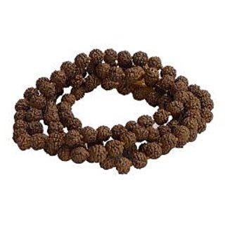 KESAR ZEMS Prayer Mala with 108 Rudraksha Beads