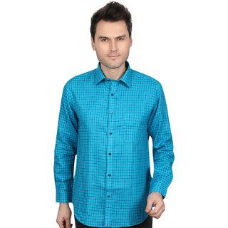 All Seasons linen's new check shirt for men