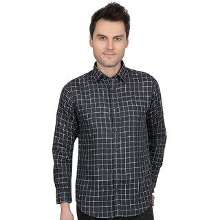 All Seasons linen's new check shirt for men