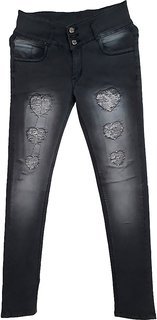 Damage Jeans shaded greay