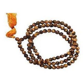 KESAR ZEMS Tiger Eye Mala Tiger Eye Rosary Tiger Stone Rosary Tiger Stone