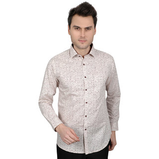 All season new Linen print for men every day use