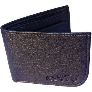 Friends & Company Men Wallet Bifold Black  genuine Leatherlite Top purse wallet-StyleLookFC22