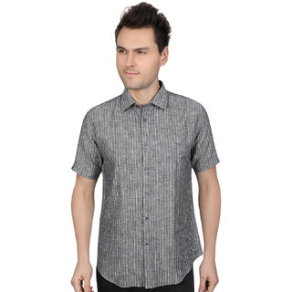 All Season Linen Stripes Casual shirts for men every day use