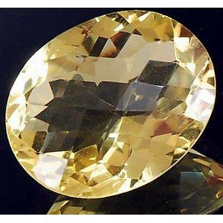 KESAR ZEMS Yellow Topaz - Best substitute for Pukhraj or Yellow Sapphire   Ratti  7.75