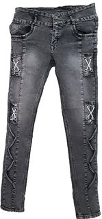 Shaded and designer skinny jeans