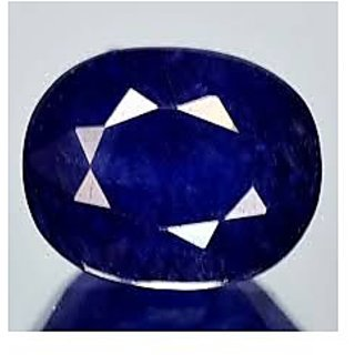 Blue Sapphire Stone For Shani Kaka Neeli Original Blue Amethyst 5 To 8 Carat
