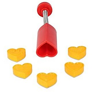 DS Peda/ Sweet Fast Stamping / Cutter Heart Shap Plastic