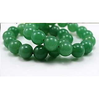 KESAR ZEMS Green Aventurine Bracelet  - Healing stone Reiki Crystal therapy Love Stone