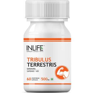 INLIFE Tribulus Terrestris 60 Vegetarian Capsules