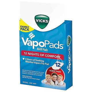 Vicks VapoPads, 6 count refill pads
