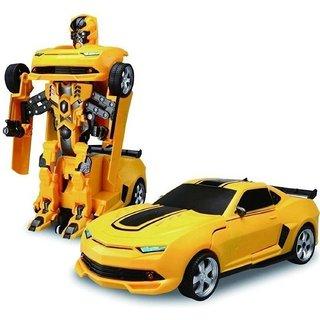 Akshata Robot To Car Converting Transformer Toy For Kids