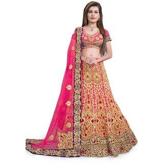 fa7a32ff63e4 Buy LEHENGA CHOLI 1503 PANGHAT Online   ₹12599 from ShopClues
