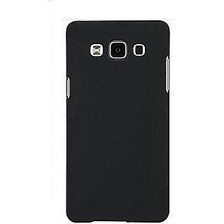 Premium Soft Silicone Back Case Cover for Samsung Galaxy J7 Black