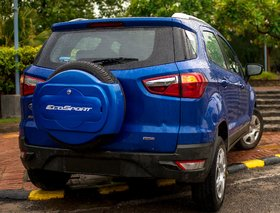 FUTURE IT IS HALF/SPORTY SPARE WHEEL COVER FOR FORD ECOSPORT(KINETIC BLUE)