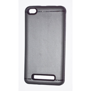 Premium Soft Silicone  Back Cover Case For M-i 4A Black