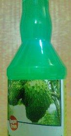 Soursop Graviola Guanabana Hanuman phal Laxman fal ram phal sitaram phal Guyabano cancer fruit Fresh Fruit Juice No Added Sugar one liter Bottle