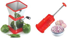 Kitchen Chilly Cutter and Press Onion Cutter