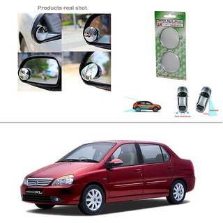 AutoStark Blind Spot Rear View Convex Mirror for Tata Indigo Xl