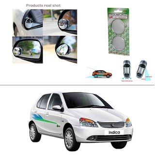 AutoStark Blind Spot Rear View Convex Mirror for Tata Indica V2 Xeta