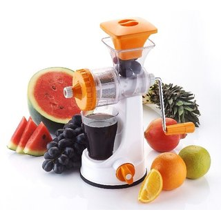 Kitchen Fruit Vegetable Manual Juicer With Vacuum Base