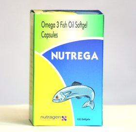 NUTREGA Fish Oil, 100 Softgels